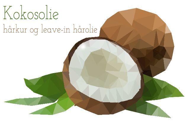 kokosolie som hårkur hvordan sundt hår
