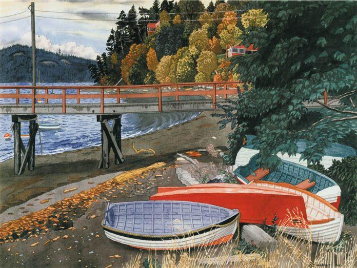 EJ Hughes - Maple Bay