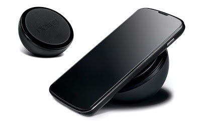 Now is the official inductive charging station, the Orb, for the Nexus 4 in some Scandinavian online stores from 12th February listed as available