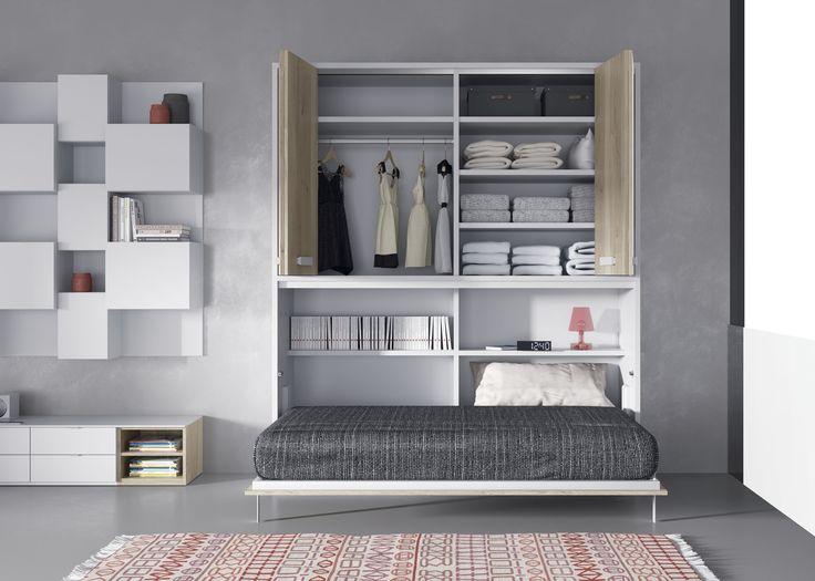 25 best literas abatibles images by xikara on pinterest for Planificador habitaciones