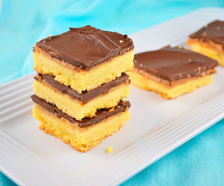 Buttery Shortbread Mixed with Chocolate AND Peanut Butter