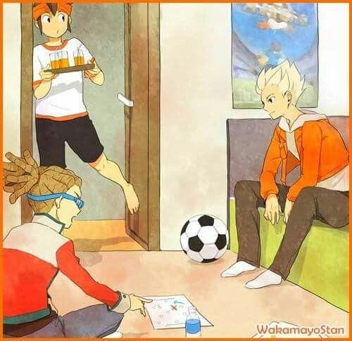Endou Mamuru, Kidou Yuuto & Goenji Shuuya