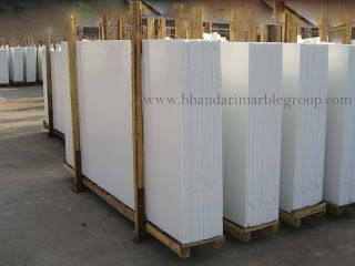 MILKY WHITE INDIAN MARBLE White Marble has been valued and used since thousands of years for its good design, beautiful colors and appearance. Australian White Marble is used especially in architec…
