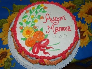 Ricette Annotate: Torta compleanno Mamma