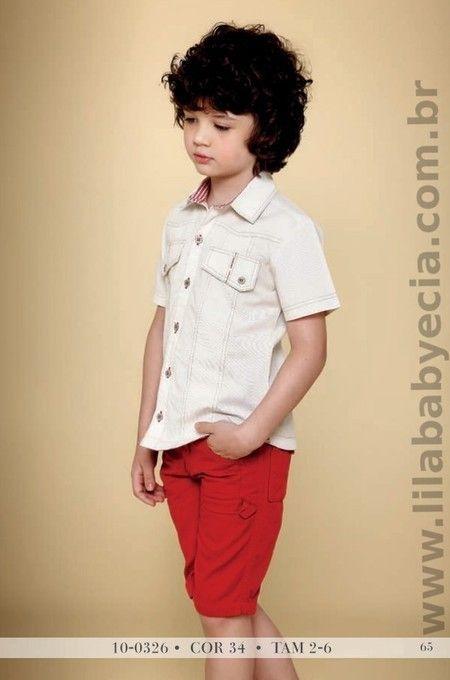 Conjunto Infantil Masculino Camisa Shor Diforini Moda Infantil 100326