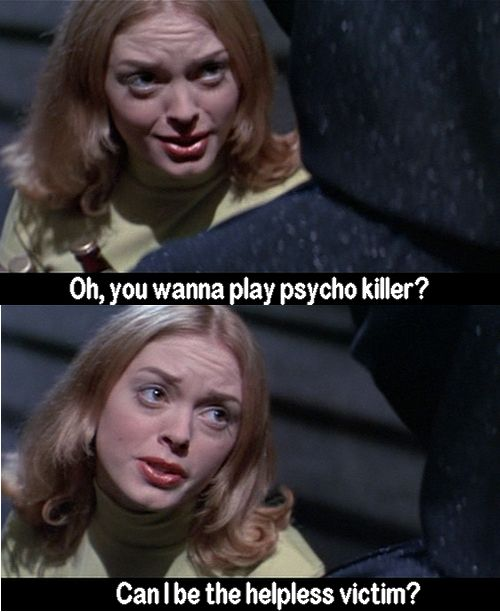 Movie Millisecond: You Wanna Play Psycho Killer?
