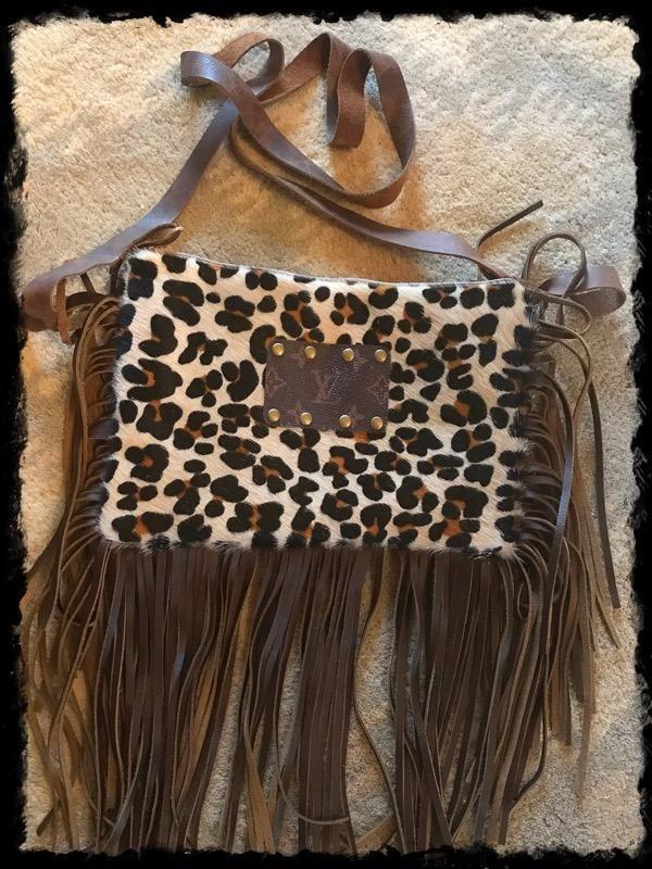 80c7371499e8 LV and Cheetah Cross Body Bag
