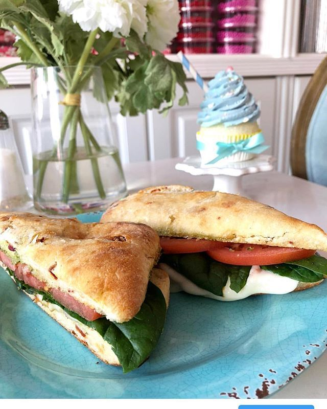 Ciao Bella... cheers to another week. TODAYS LUNCH SPECIALS: Tomato Mozzarella Panini or Tomato Mozzarella Parmesan Crusted Grilled Cheese paired with our Famous Tomato Bisque #itswhatsforlunch #cheeselover #handcrafted #besttomatosoupever #panini #grilledcheese #morethanthebestcupcakes #bakerycafe #fridaylunch #lunchincoralgables #tgif
