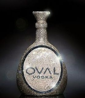 Fashion Affairs: Luxury & designer drinks : VODKA!  As one of the ultimate luxury must have drinks is OVAL vodka. The bottle is bejeweled with almost 7000 Swarovski crystals and it's retail price is approx . $7000.