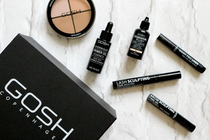 GOSH Autumn/Winter 2016 makeup review @goshcosmetics @superdrugstores