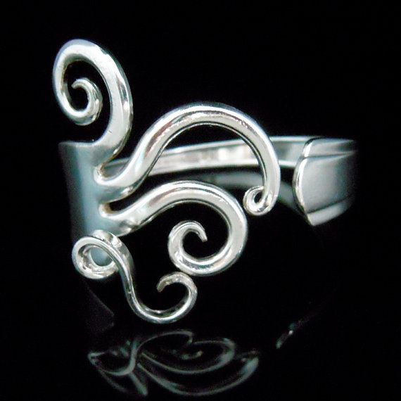 17 Best Images About Silver Cutlery Jewellery On Pinterest