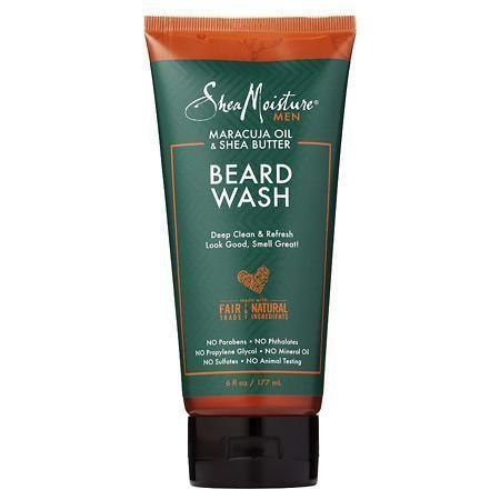SheaMoisture Face/Beard Wash - 6 oz.