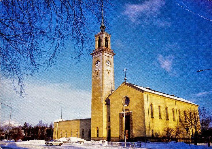 SUOMALAISIA KIRKKOJA M-Ö - sulo heinola - Picasa-verkkoalbumit.   Viinikan kirkko.  Kuva: Reino Virtanen