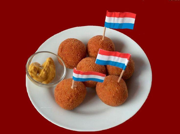 Bitterballen. Typical Dutch snack.