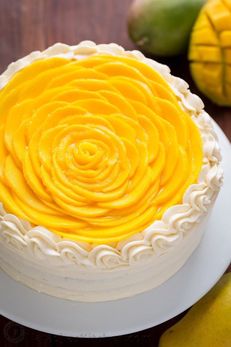 Mango Cake Recipe (VIDEO)
