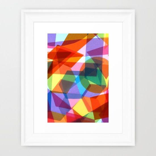 Lightwave Framed Art Print