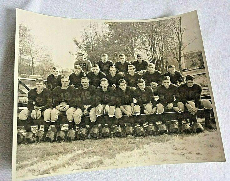 195152 Vintage 8x10 Photo Montezuma KS High School