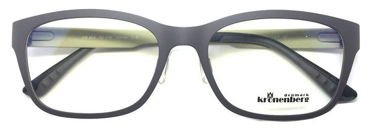 Kronenberg Denmark Prescription Eyeglasses Super Light Ultam Frame KB 403 c5. Ultem (Super Light and Super Flexible Material). Kronenberg. Advanced Design. Rxable. Beta Memory Frame.