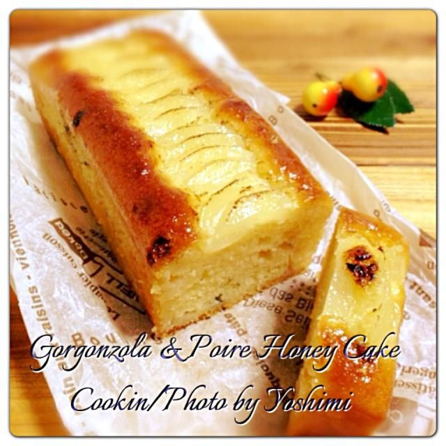 甘くてしょっぱいこの味好き〜 HMで作ったとは思えないケーキに仕上がりました アレンジきくし簡単で美味しいねレシピありがとうございました✨ - 153件のもぐもぐ - りんさんのはちみつケーキ洋梨とブルーチーズいれちゃった by yoshimi