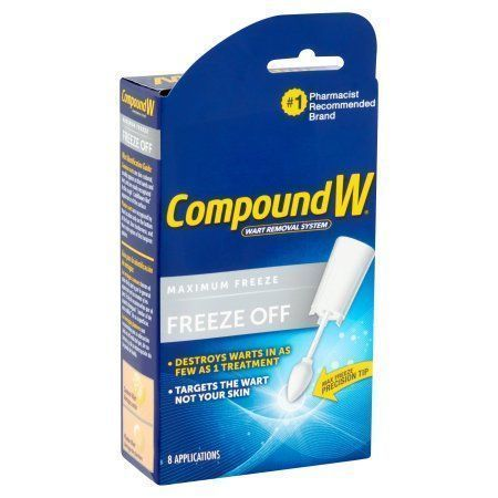 Compound W Wart Removal System Freeze Off, 8 ct, Multicolor http://www.wartalooza.com/general-information/do-wart-removers-work-on-moles-and-skin-tags