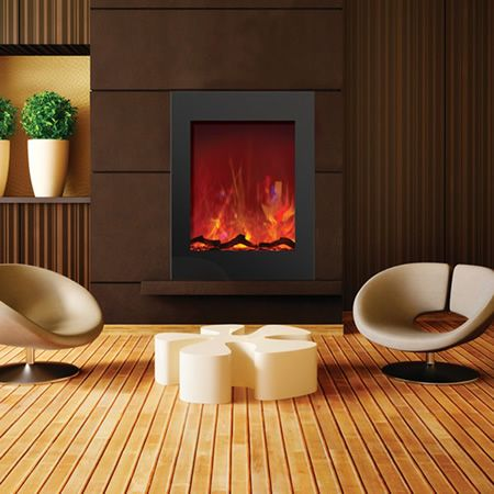 Amantii Zero Clearance Vertical Electric Fireplace