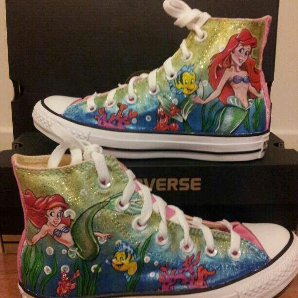 The little mermaid converse