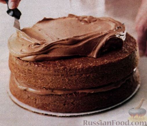 Рецепт шоколадного торта с жидким шоколадом внутри