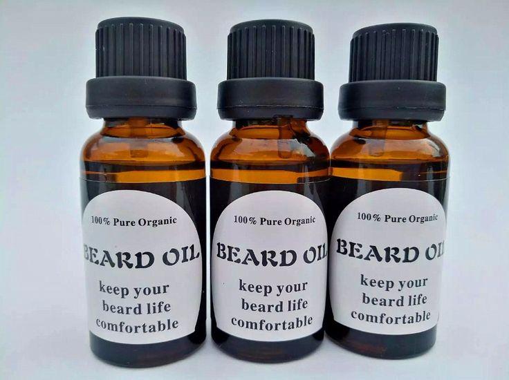 Preboily 100% Natural Beard Care Oil Accelerate Moustache Beard Serum Facial Hair Grower Product Beard Growth Essential Oil 20ML