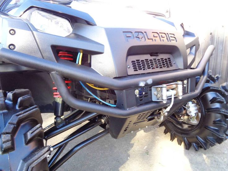 Used 2013 Polaris Ranger® 800 EFI LE ATVs For Sale in Oklahoma. • 12 in.Black Crusher rims with PXT tires • Turbo Silver painted front and rear suspension springs • Sunset Red or Black and White Lightning painted hood, dash, and glove box