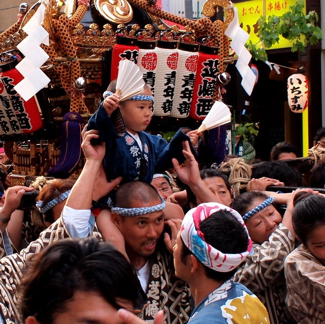 Asakusa Sanjya-Matsuri 浅草 三社祭