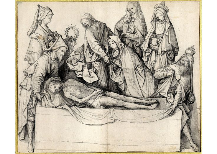 https://flic.kr/p/hwBa8s | Положение во гроб (Лондон, Британский музей, 25,3 х 30,5)