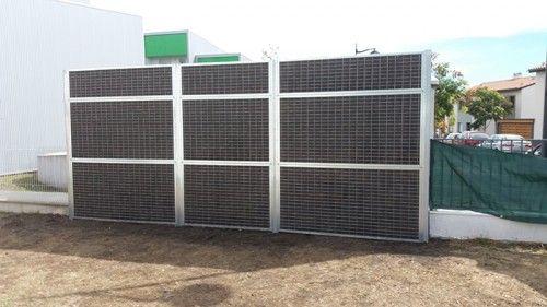 mur anti brui transformateur EDF 1 bordeaux