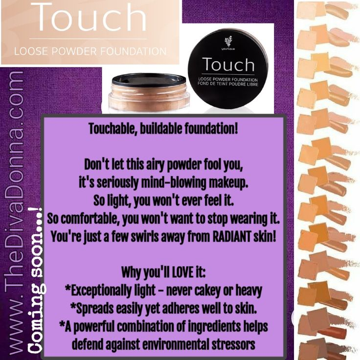Younique Mineral Touch Loose Powder Foundation! www.thedivadonna.com