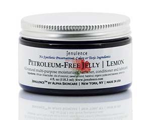 Peteroleum-free jelly with shea butter