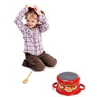 Dieses Spiel wird nie langweilig – Topfschlagen für Kinder im Kindergarten