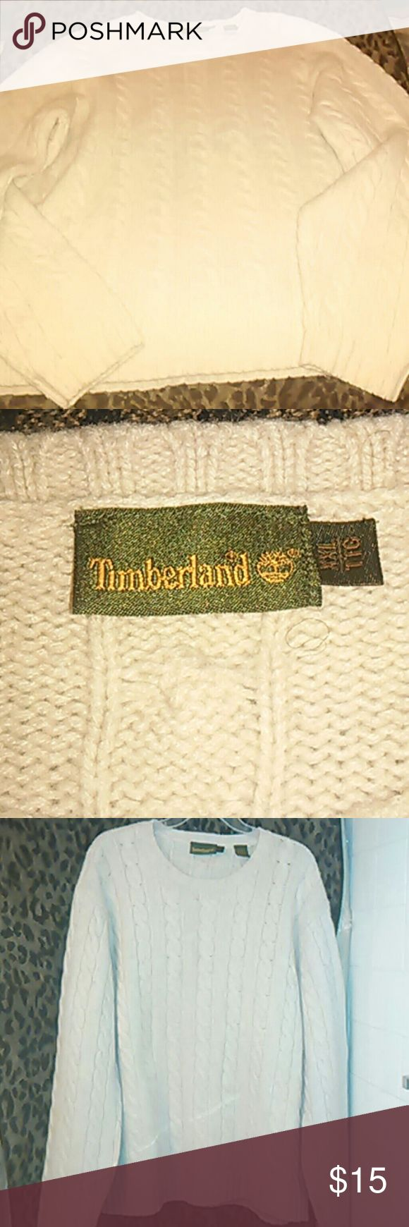 Sweater Trendy  Timberland Lambs Wool Crew Neck Sweater Good Condition Sweaters Crewneck