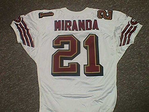 Miranda San Francisco 49ers Game Jersey Nameplate * Details can be found by clicking on the image. (This is an affiliate link and I receive a commission for the sales)
