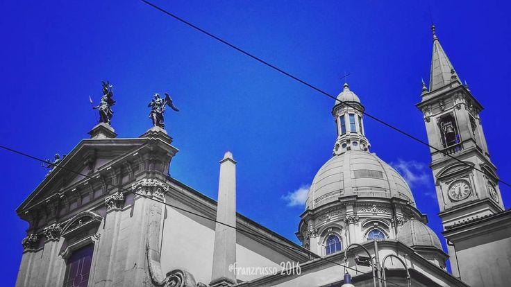 Chiesa #SanGiorgio #Milano  #igersmilano #ig_milano #Milan #sky #bluesky #blue #skycolors #architecturelovers #historicalarchitecture #vivomilano #volgomilano #tagforlikes #instalike #picoftheday #italy #milanocity by franzrusso