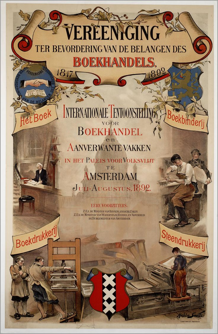 Internationale tentoonstelling -  Grafische Beurs 1892
