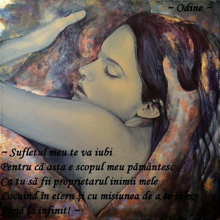 ~ Odine ~ Carte de Iubire~: ~ Te voi iubi ~ (Poem de dragoste V) ~