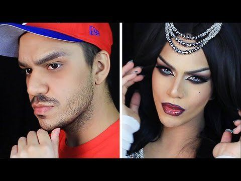 Pin for Later: 10 Beauty Boys Who Will School You on Glam Makeup Looks Arabia Felix