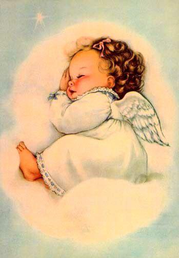 Sleeping Angel Baby. | ART - Inspiration | Pinterest