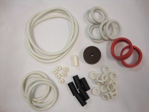 Williams Travel Time Pinball White Rubber Ring Kit by Game Room Guys. $20.83. Not really sure exactly which rubber rings you need for your pinball machine?  Do not worrry because these custom built kits come with everything you need to replace your old, worn out rings.  All kits include the rubber rings for the playfield, flippers, rebound, ball shooter, post sleeves, etc. for your pinball machine.  (Post caps are not included in the kit.)