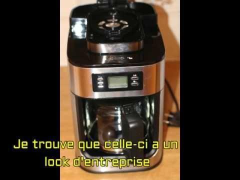 B01MCWK5X7 Singer CM6628T Cafetière Broyeur Acier Inoxydable