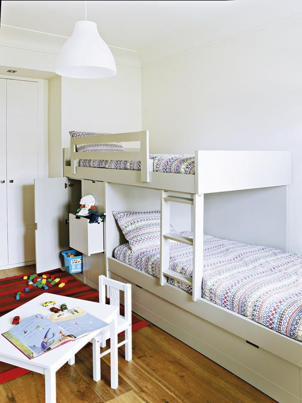 Duermes arriba o abajo c mo organizar un cuarto - Decorar habitacion piso compartido ...