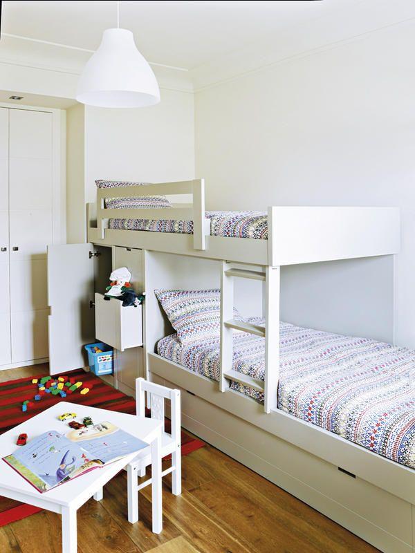 ¿Duermes arriba o abajo? Cómo organizar un cuarto compartido