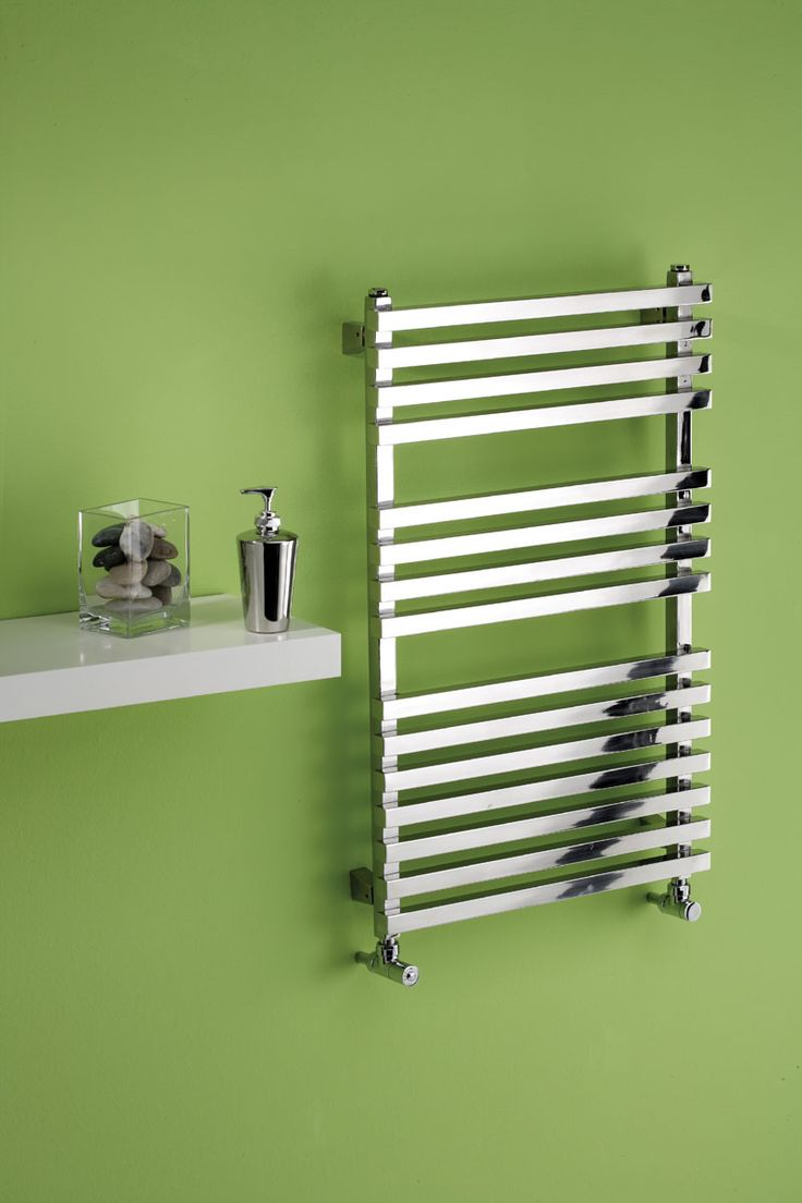 MHS Square Stainless steel electric towel rail, this towel rail is in polished stainless steel square tubes, which creates and attractive angular rail. It comes in 3 sizes, and is 70mm from wall to face.The Square comes with a thermostatic adjustable element included. The Square has a 20 year guarantee (2 year on the electric heating element). Prices from £751.46!