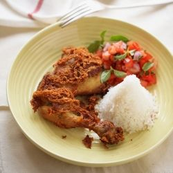 Very Famous Indonesian Crispy chicken