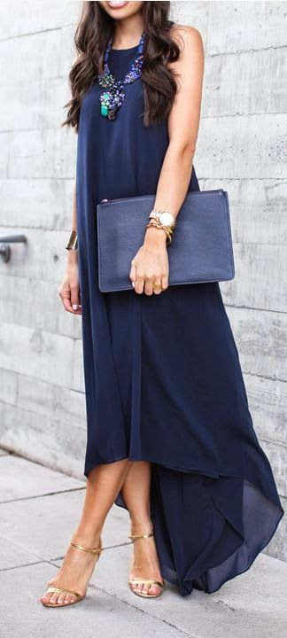 Maxi Dress Spring 2015 Outfit Ideas
