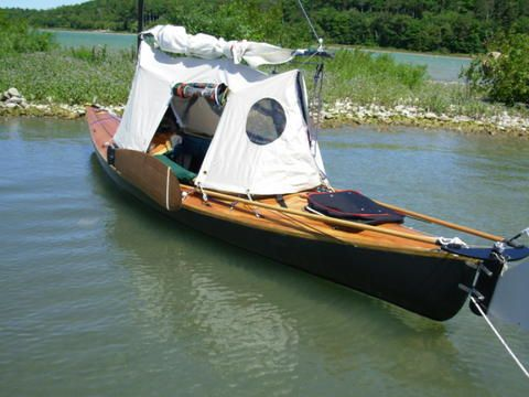Canoe Tent | Thread: Your thought's for a canoe tent please